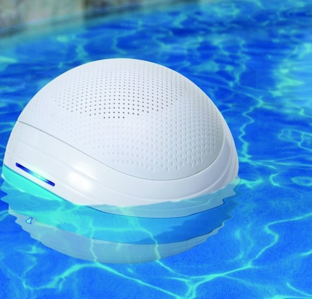 Goodtimes gt orb1 wireless bluetooth floating sound system - Waterproof speakers for swimming pools ...