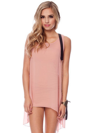 Fairy Tails Sleeveless Tunic in Blush :: tobi
