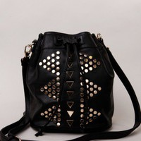 Geo Stud Bag
