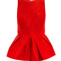 Sleeveless peplum top | Tibi | MATCHESFASHION.COM