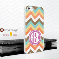 Monogram geometric color line Iphone 5 case unique case Hard case Rubber case iphone 4 case