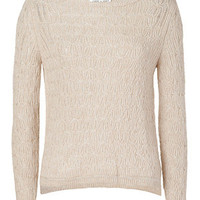 Paul &amp; Joe - Cream/Silver Isolde Pullover
