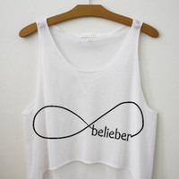 Belieber (Forever) Crop Top | fresh-tops.com