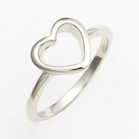 Ariella Collection Heart Ring | Nordstrom