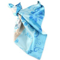 Silky Satin - Easy Tie Fashion Scarf - (See Color & Pattern Options)