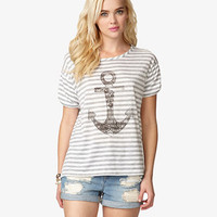 Anchor Graphic Tee | FOREVER 21 - 2047527058
