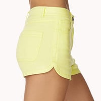 High-Waisted Denim Shorts | FOREVER 21 - 2039183887