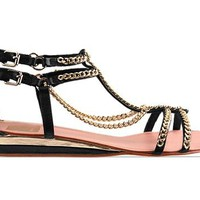 Dolce Vita Idra in Black Leather at Solestruck.com