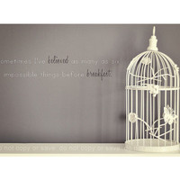 Shabby Chic Vintage Gret White Bird Cage by ShabbyStudios on Etsy