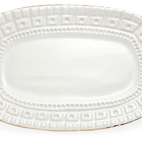 One Kings Lane - Michael Wainwright - Capitol Cracker Plate, Gold Edge