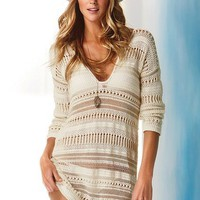 Crochet Cover-up Sweater - Victoria's Secret