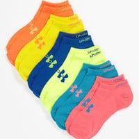 Under Armour Neon No-Show Socks | Nordstrom