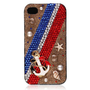 British Style Crystal Anchor Case for iPhone 5