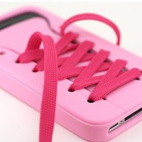 lovelala — cute iShoes Silicone soft iPhone 4/4S/5 Case