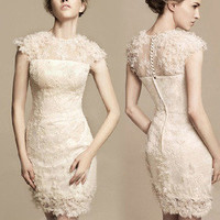 lovely noble elegant lace skirt