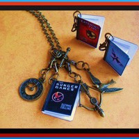 Miniature Book Charms Necklace | SouthwestSkyJewelry - Jewelry on ArtFire