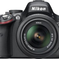 Nikon - D5100 16.2-Megapixel DSLR Camera with 18-55mm VR Lens - Black - D5100 with 18-55mm VR Lens - Best Buy