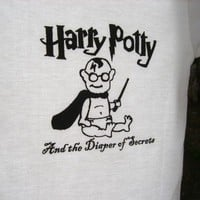 Harry Potty And the Diaper of Secrets hand by BullyDesignCo