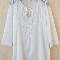 Vagabound Boho Lace Tunic