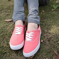 Pink Sweet Canvas Shoes