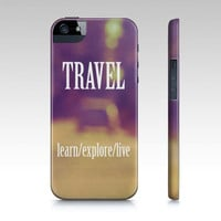 "Samsung Galaxy S3 Covers - iPhone 5,4,4s Case ""Travel"""