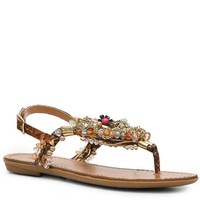 Shop  Zigi Soho Precious Flat Sandal Larger View
