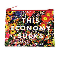 $3.99 BlueQ This Economy Sucks Coin Purse