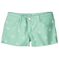 FlipSide Juniors Reversible Denim Short - Aquarium to Stars