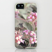 Little pink flower iPhone & iPod Case by AngsanaSeeds