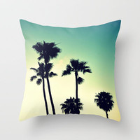 Pacific Coast Hwy Cruisin Throw Pillow by RichCaspian