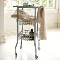 Galvanized Metal Floor Storage
