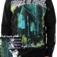 Cradle Of Filth Long Sleeve T-Shirt - Midnight In The Labyrinth
