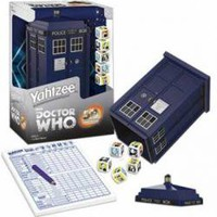 Doctor Who Yahtzee - Tardis