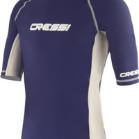 Cressi Lycra Skin Short & Long Sleeve Rash Guard, Men's or Women's