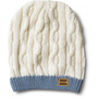 Cream Cable Knit Beanie