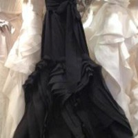Vera Wang Ethel in BLACK Size 2 | Used Wedding Dresses	 | PreOwnedWeddingDresses.com
