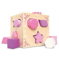 Imaginarium Shape Sorting Cube - Pink