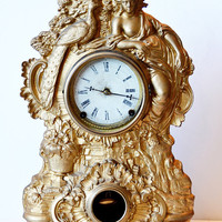 N Muller Victorian Clock