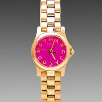 Marc by Marc Jacobs Henry Dinky Watch in Rose Gold/Knockout Pink from REVOLVEclothing.com