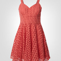 BB Dakota Eyelet Tibet Dress