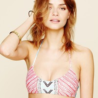 Free People Basket Weave Top