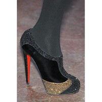 Christian Louboutin for Jonathan Saunders Strass Booties $242,christianlouboutin,namely red bottom shoes,discount louboutins