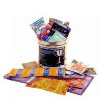 World`s Best Condom Sampler Tin: Health & Personal Care