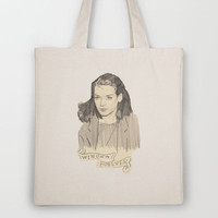 Winona Forever Tote Bag by withapencilinhand