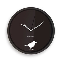 Kikkerland Design Inc   » Products  » Wall Clock + Early Bird