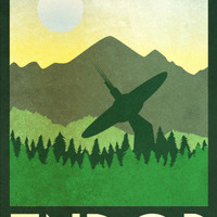 Endor Retro Travel Posters at AllPosters.com