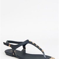 Qupid LENOX-01 Studded Metal Toe Sandal | Shop Shoes