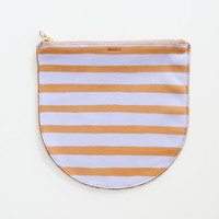 Hand-Painted Leather Pouch – Sight Unseen