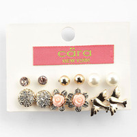 Cara Assorted Earrings (Set of 6) | Nordstrom