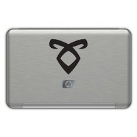 Mortal Instruments ANGELIC decal. BLACK 4x4 inches: Everything Else
